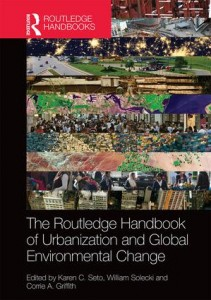 capa do livro Urbanization and global environmental change