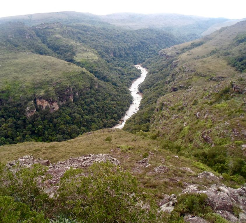 Canyon de Guartelá, APA Escarpa Devoniana - Foto: Gustavo Alves